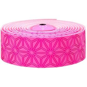 Supacaz Super Sticky Kush Starfade Handlebar Tape, neon pink